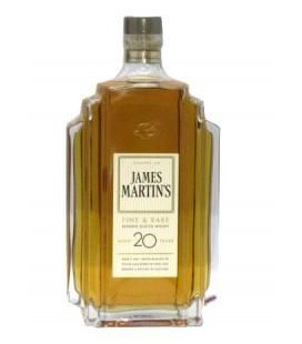 Whisky James Martins 20 Anos