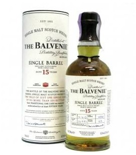 Whisky Balvenie 15 Anos Single Barrel 0.70