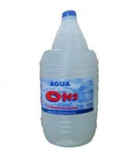 Agua Destilada Desmineralizada 5 Litros cx/3