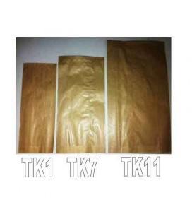Saqueta Papel Kraft TK1 (10.5x25.5)Pak/250 cx/1000