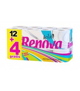 Papel Higienico Renova Ole 12+4 Rolos pak/4