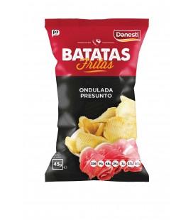 Batata Frita DANESTI Ondulada Presunto 45gr cx/ 26