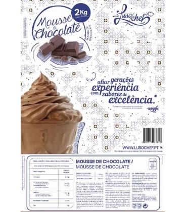 Preparado Mousse Chocolate de Leite Lusochef 1Kg