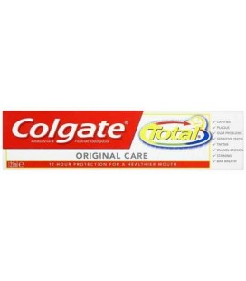 Pasta Dentes Colgate Total Original 125ml cx/12