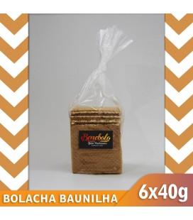 Bolacha Baunilha 6x40  240gr (Ben)