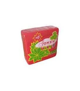 Guardanapos Joker Tipo Tecido Vermelho 40x40 cx/24