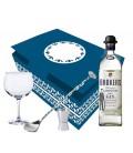 Pak Gin Brokers+copo+doseador+colher+estojo - 7669-2428