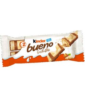 Chocolate Kinder Bueno White cx/30 unid