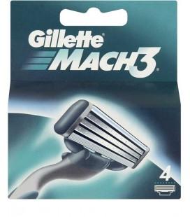 Lamina Gillette Mach3 cx/10