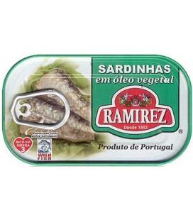Sardinha Ramirez em Oleo 125gr