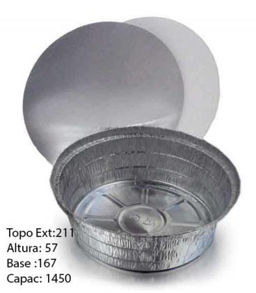 Forma Aluminio+Tampa 800 un -6314b/1420-