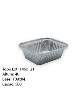 Formas Aluminio(Ref 1345a/500) 25 unid