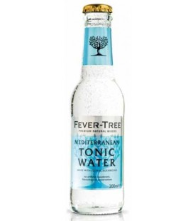 Agua Tonica Fever Tree Mediterranean 20cl cx/24