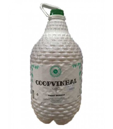 Garrafao 5 Litro Vinho Branco Coopvinhal Tara Perd