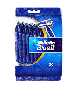 Gillette BlueII Barbear 20 unidades cx/20