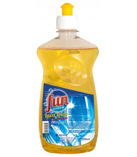 FUN Lava Loica Concentrado Amarelo 500 ml cx/12