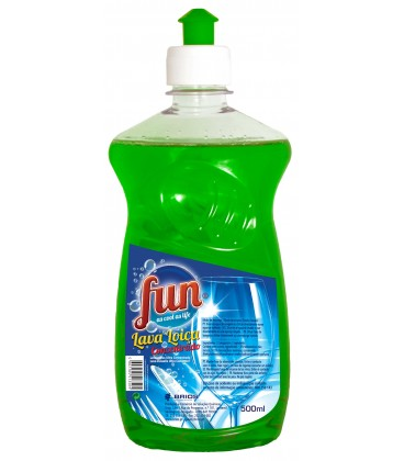 FUN Lava Loica Concentrado Verde 500 ml cx/12