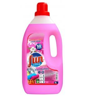 FUN Detergente Roupa Talco Rosas 3 Litros cx/4