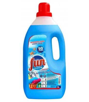 FUN Detergente Roupa Marinho 3 Litros cx/4