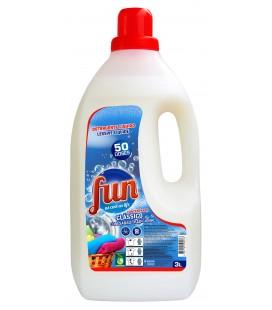 FUN Detergente Roupa Classico 3 Litros cx/4