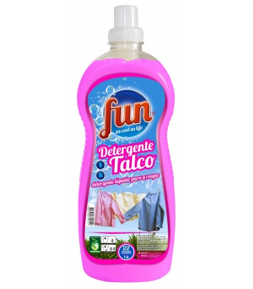 FUN Detergente Roupa Talco 1.5 Litros cx/8