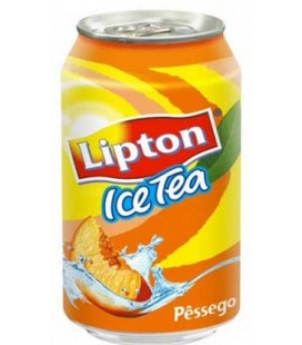 Ice Tea Lipton Pessego Lata 0.33 cx 24