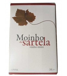 V. Tinto 20 Litros MOINHO DA SARTELA Bag in Box