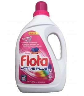 Detergente FLOTA Activ Plus Color 25 D 1.3 cx/8