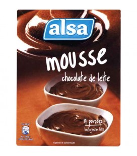 Mousse Chocolate Alsa 150gr cx/10
