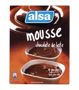 Mousse Chocolate Alsa 150gr cx/10