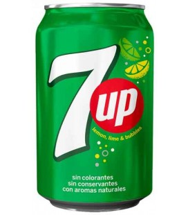 Seven Up lata (Nac) 0.33 cx/24