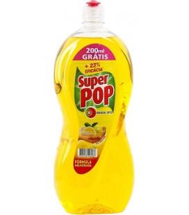 SUPER POP Limao Detergente da Loica 1.4 Litro cx/8