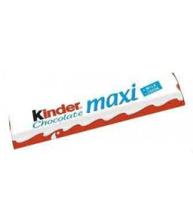 Chocolate Kinder Maxi T1 cx/36