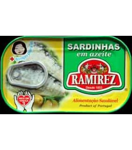 Sardinha Ramirez em Azeite 125gr