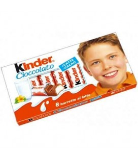 Chocolate Kinder Barritas T8 cx/10