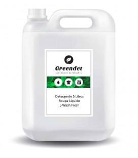 Detergente Roupa 5 Lt Liq Branco/100d L-Wash Fresh