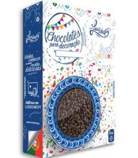 Chocolate Negro Granulado Lusochef 250 gr cx/12