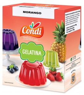Gelatina Morango CONDI 1.36kg cx/13