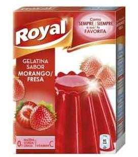 Gelatina Royal Morango 850 gr