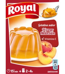 Gelatina Royal Pessego 170gr cx/12