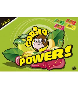 Pastilha Gorila POWER (Bub) BANANA 3gr cx/100