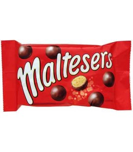 Chocolate Maltesers 37 gr cx/25