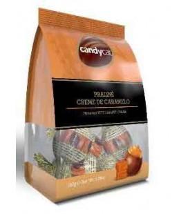 Bombons Candycat Recheio Caramelo 150gr cx/20