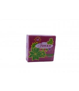 Guardanapos Joker Tipo Tecido Bordeaux 40x40 cx/24