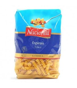 Massa Nacional Espirais 500gr cx/15