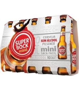 Super Bock Mini Zero S/ Alcool Branca 0.20TP cx/24