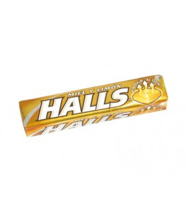Halls Menho-Lyptus Mel e Limao cx/20
