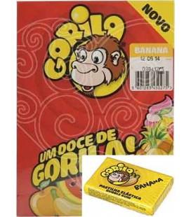 Pastilha Gorila Banana cx/100