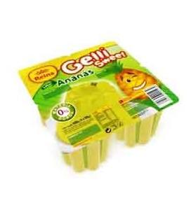 Gelatina Copo Gelli-Sweet Ananas Rein 100gr pak/4