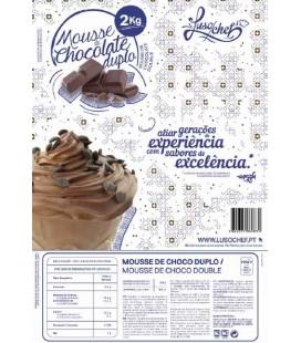 Preparado Mousse Chocolate Negro LUSOCHEF 1Kg